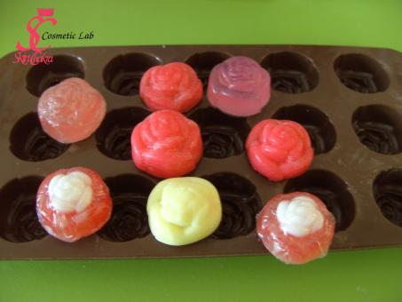Silicone mould Rose