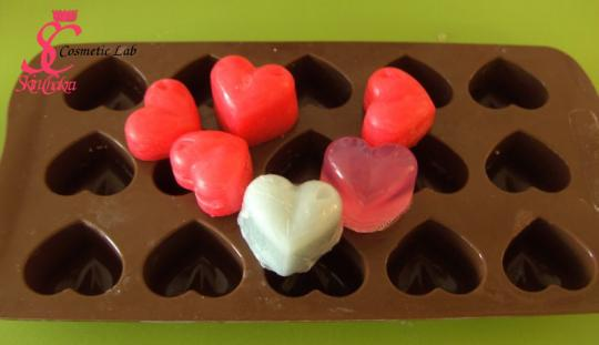 Silicone mould, heart